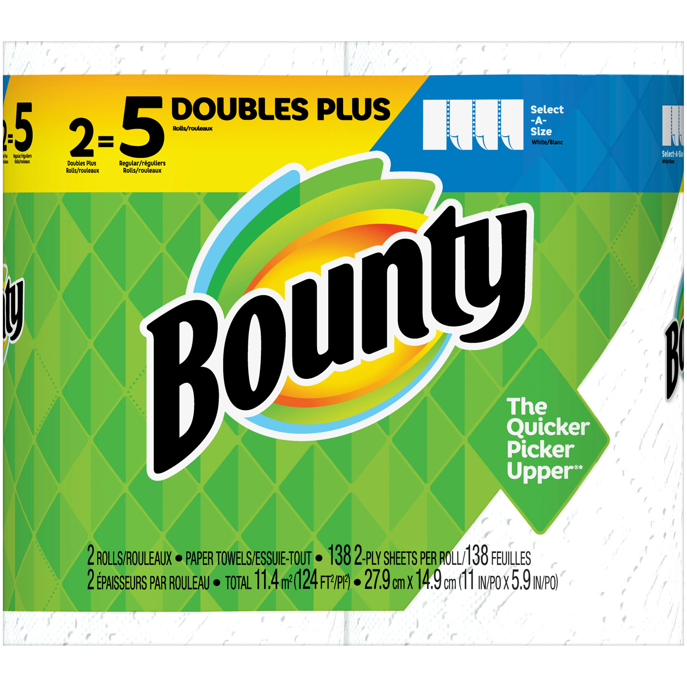 Bounty Select a Size Paper Towels - White
