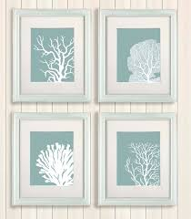 Coral Colored Decorative Items by Coral Color Wall Decor Home Design Ideas