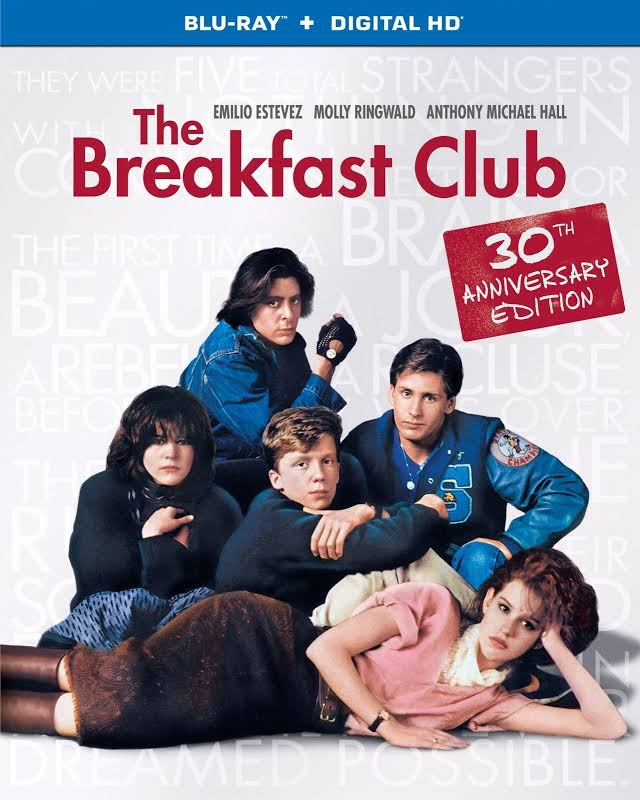 Breakfast Club 30th Anniversary Edition Blu-ray