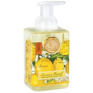 Michel Design Works Foaming Soap - Lemon Basil, 17.8oz
