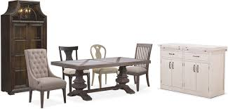 Value City Kitchen Table Sets by The Lancaster Urn Dining Collection Value City Furniture