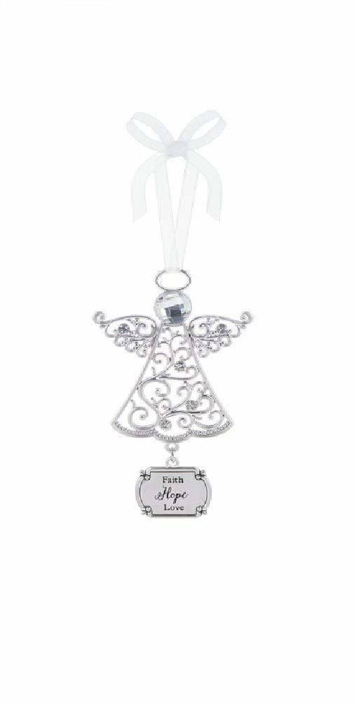 Ganz Angel Ornament - Faith Hope Love