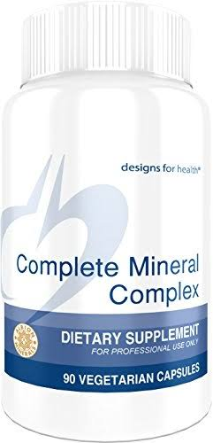 Designs For Health Complete Mineral Complex Supplement - 90 Vegetarian Capsules