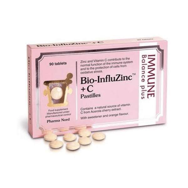Pharma Nord Bio-InfluZinc Plus C Vitamin - 90ct