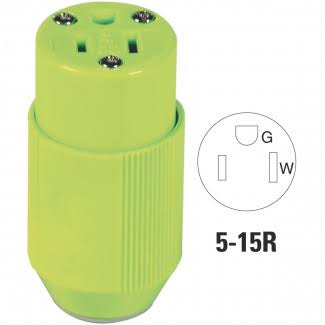 Cooper High Visibility Cord Connector