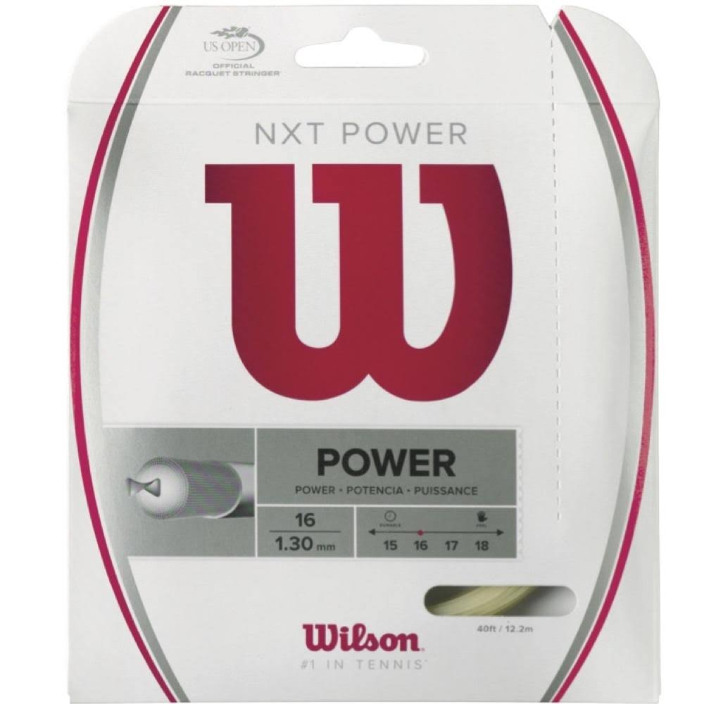 Wilson NXT Power 16 Tennis Racket String Set