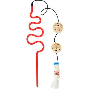 Mad Cat Milk 'n' Cookies Wand Toy for Cats
