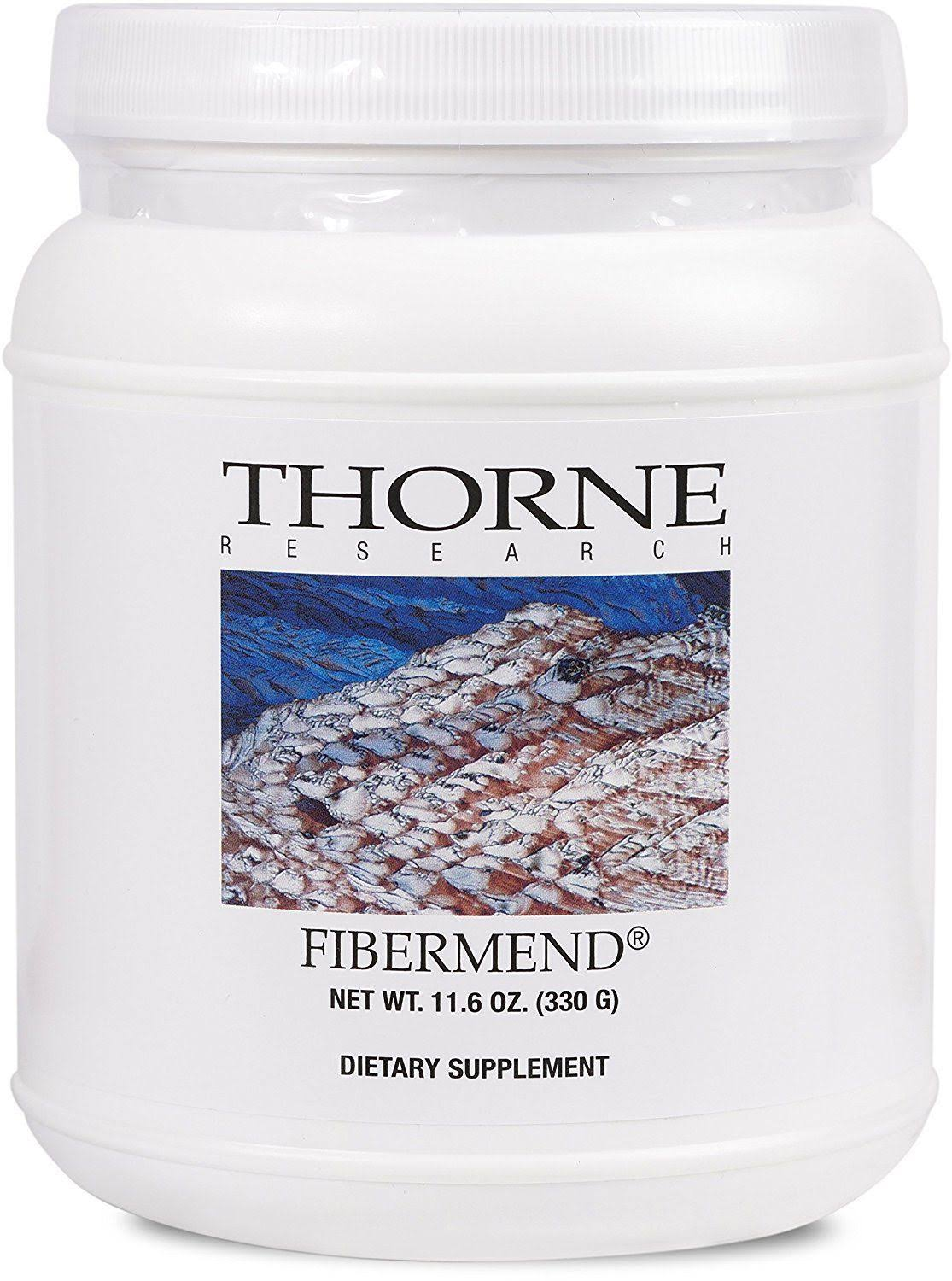 Thorne Research FiberMend Fiber Supplement Powder - 11.6oz