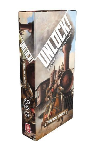 Unlock! Tombstone Express Board Game