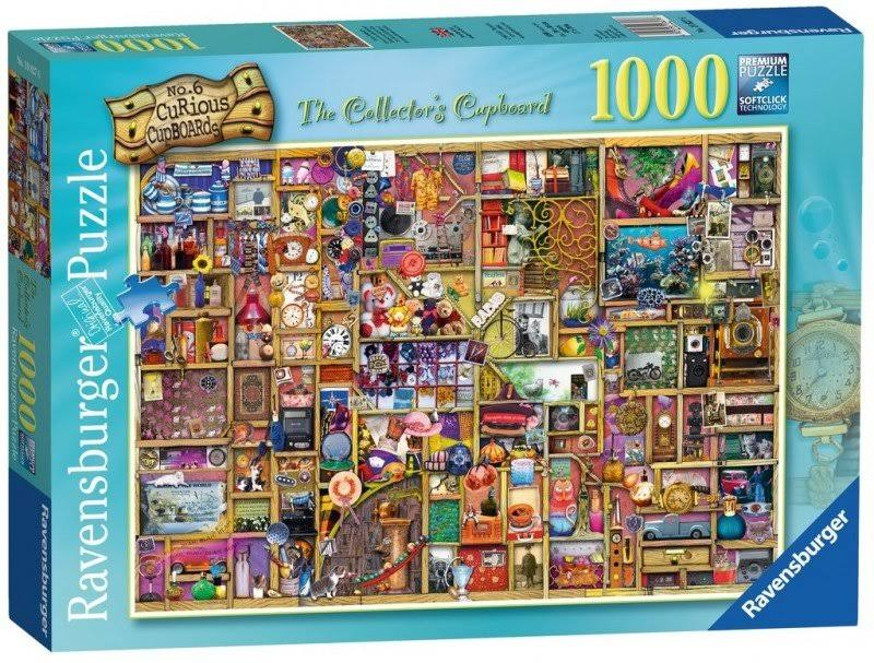 Ravensburger Colin Thompson The Collectors Cupboard Jigsaw Puzzle - 1000pcs