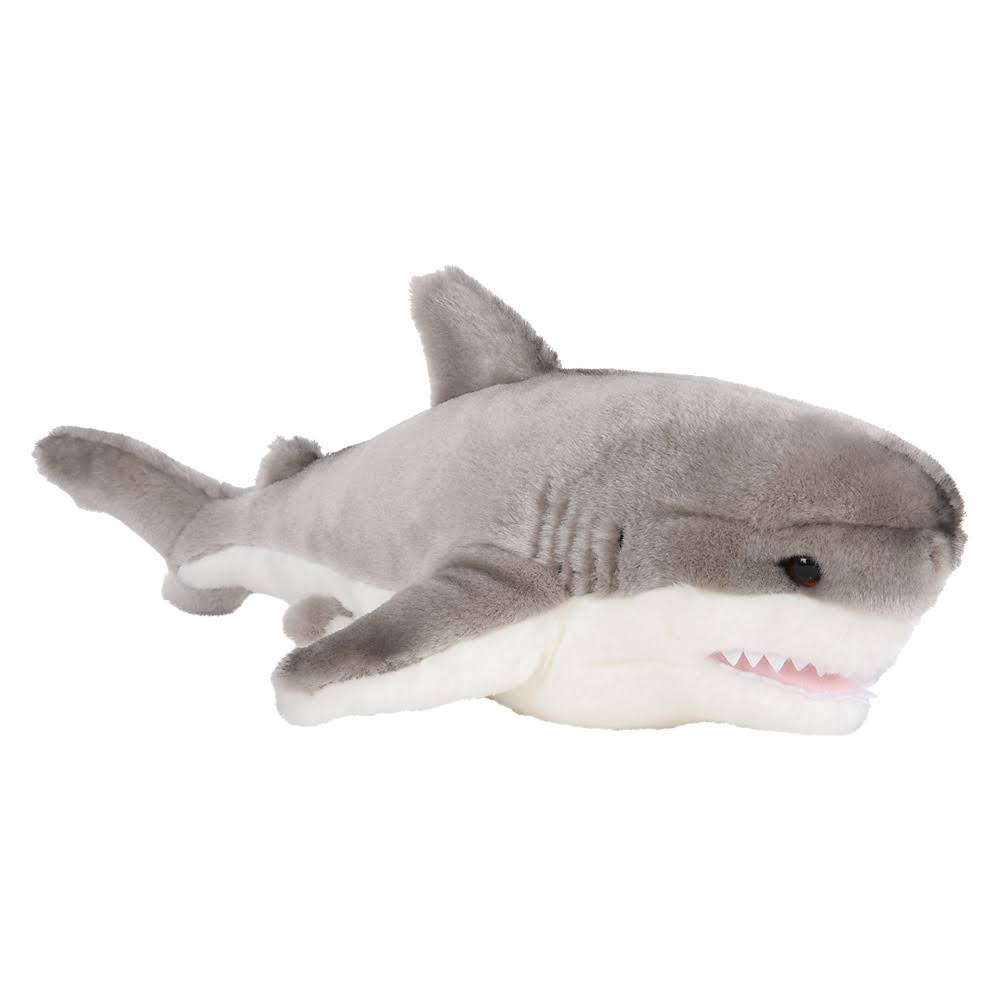"Adventure Planet 12"" Heirloom Floppy Great White Shark"