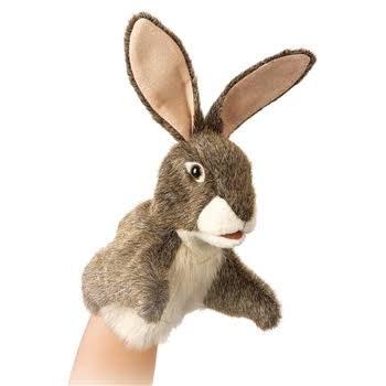 Folkmanis * Hare Little Puppet