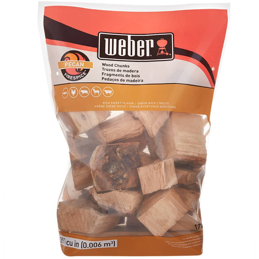 Weber-Stephen Products Pecan Wood Chunks - 4lb
