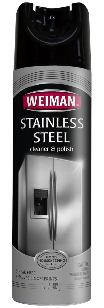 Weiman Stainless Steel Cleaner & Polish - 482g