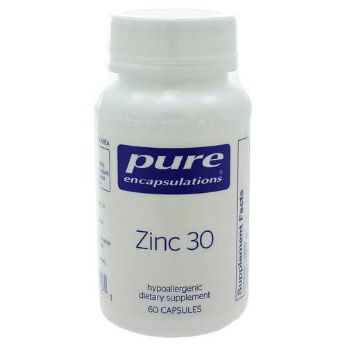 Pure Encapsulations - Zinc 30 - 60 Capsules
