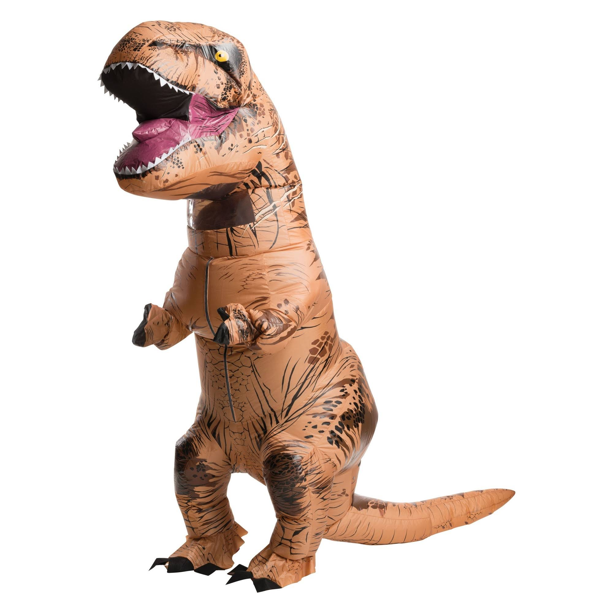 T-rex Jurassic Park World Dinosaur Inflatable Adult Costume - Trex Jurrassic
