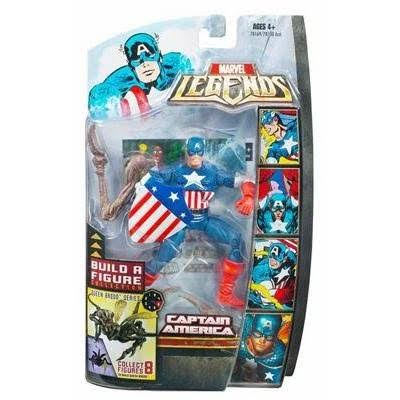 Marvel Legends Marvel Heroes Series 3 'Brood Queen Series' Captain America Action Figure - 6""