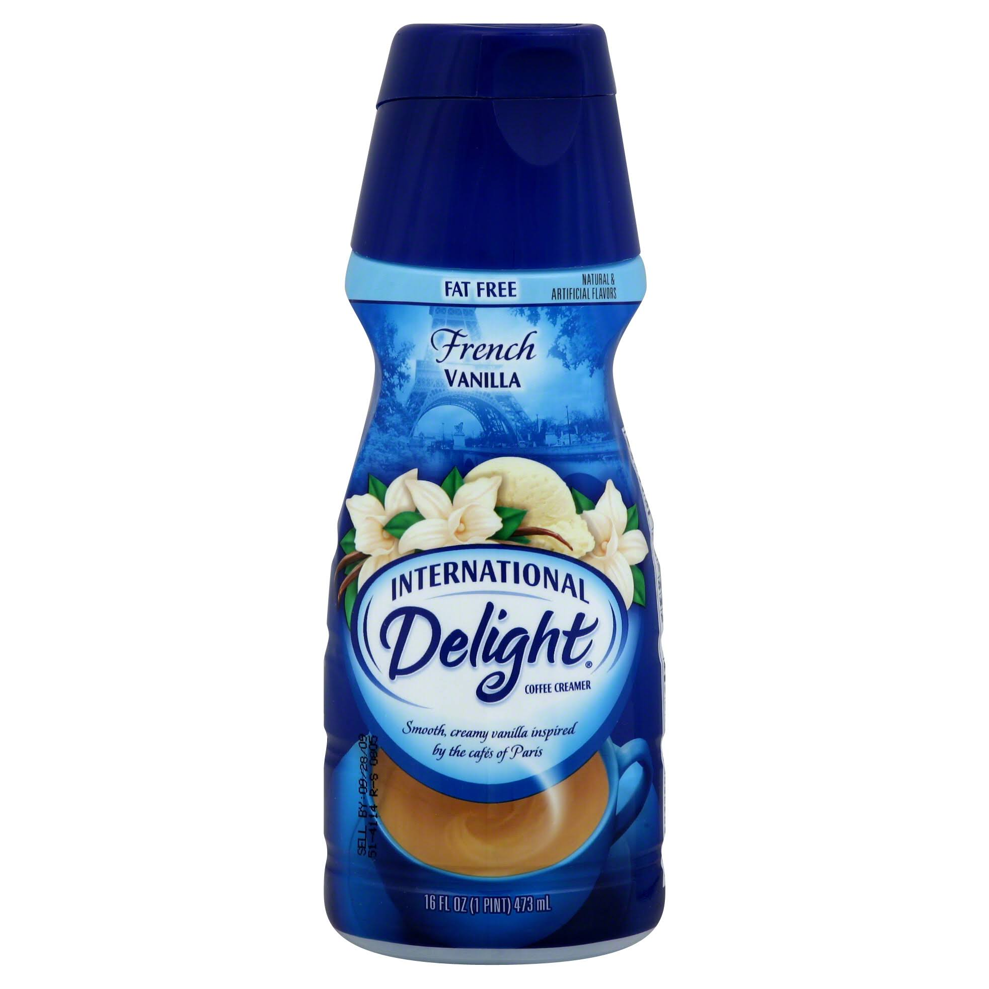 International Delight Gourmet Coffee Creamer - Fat Free, French Vanilla