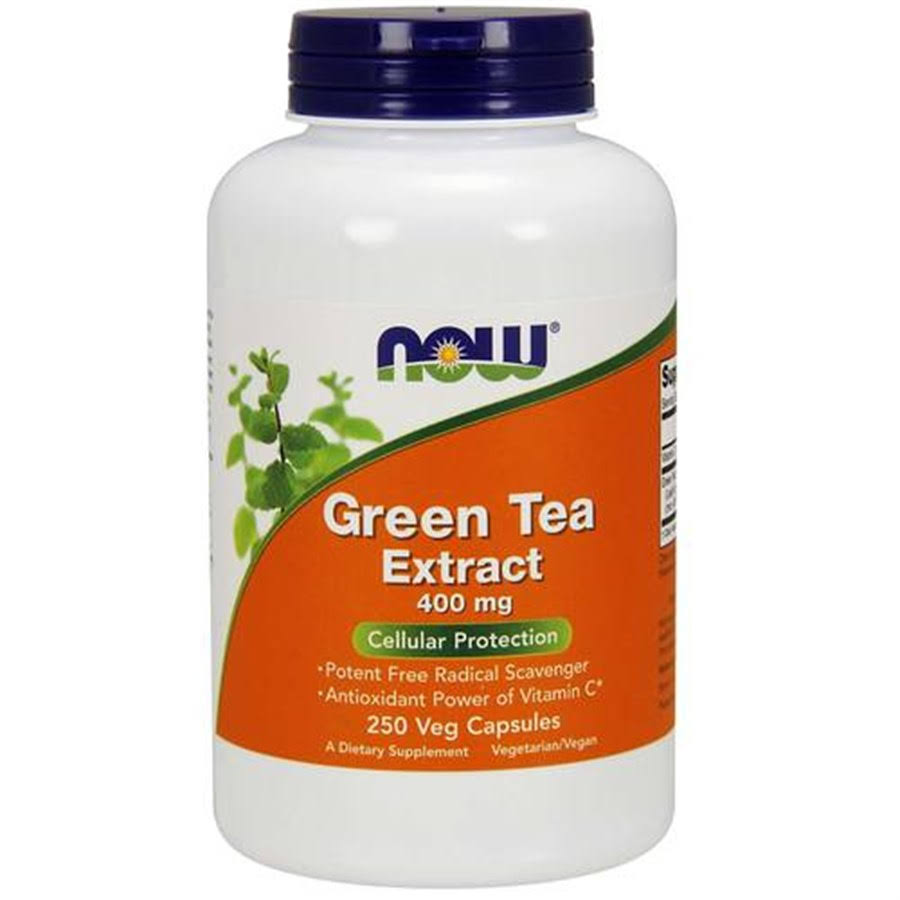 Now Foods Green Tea Extract Supplement - 250 Capsules