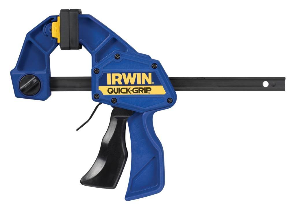 Irwin Quick-Grip One-Handed Bar Clamp - Medium-Duty, 6""