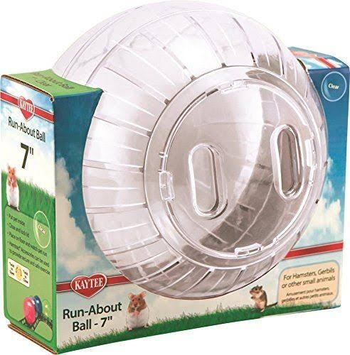Pets International Run About Ball Clear - 7 Inch