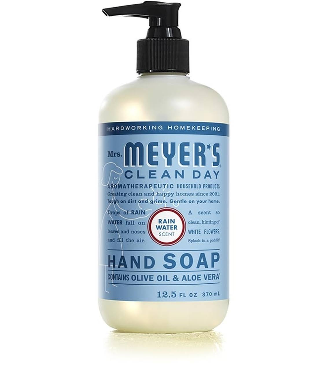 Meyers Clean Day Hand Soap, Rain Water Scent - 12.5 fl oz