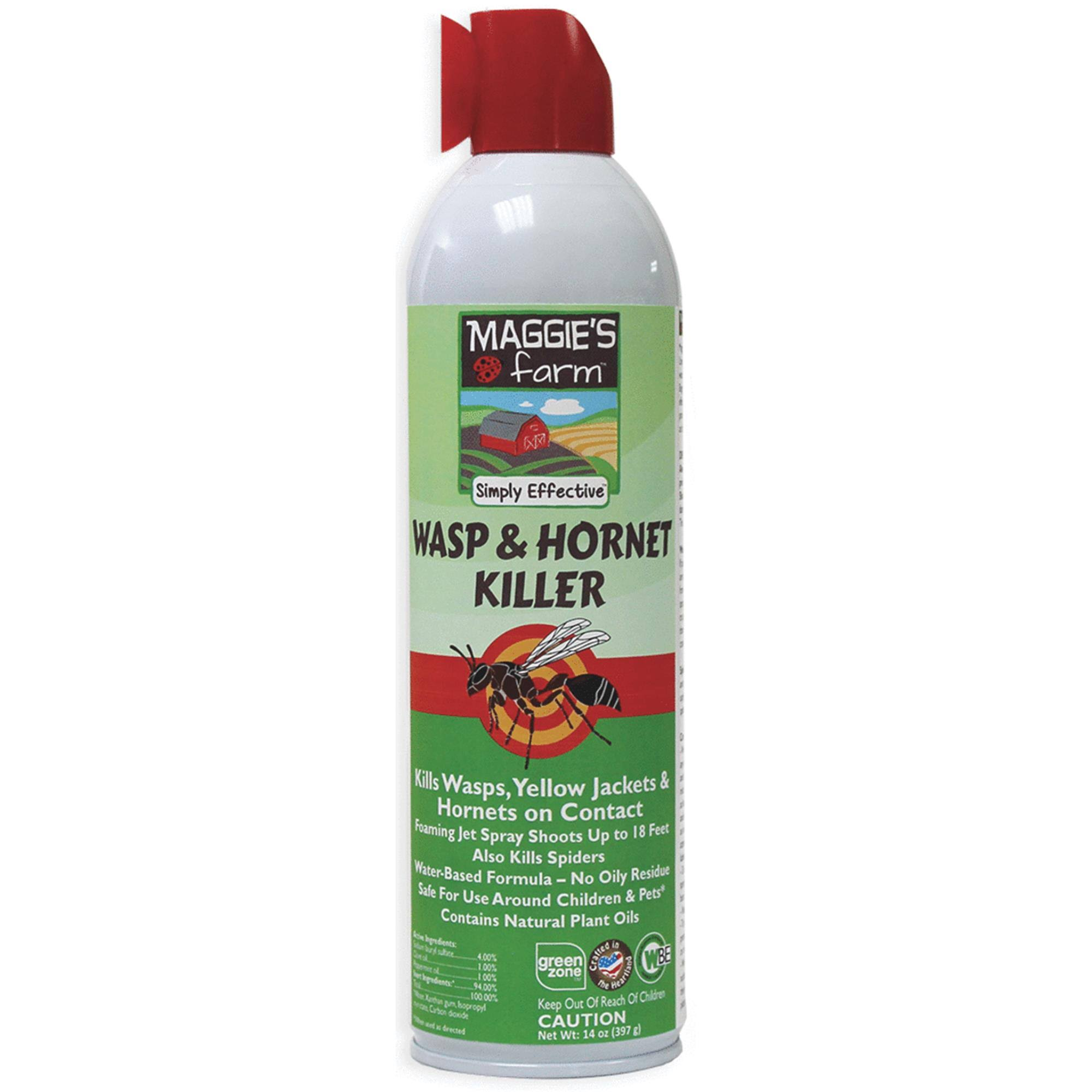 Maggie's Farm Wasp & Hornet Killer - 14oz