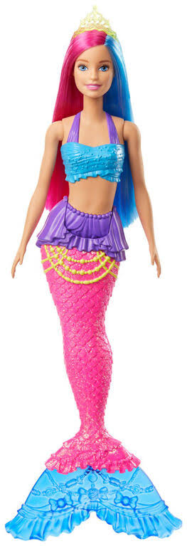 Barbie Dreamtopia Mermaid Doll (Pink and Blue)