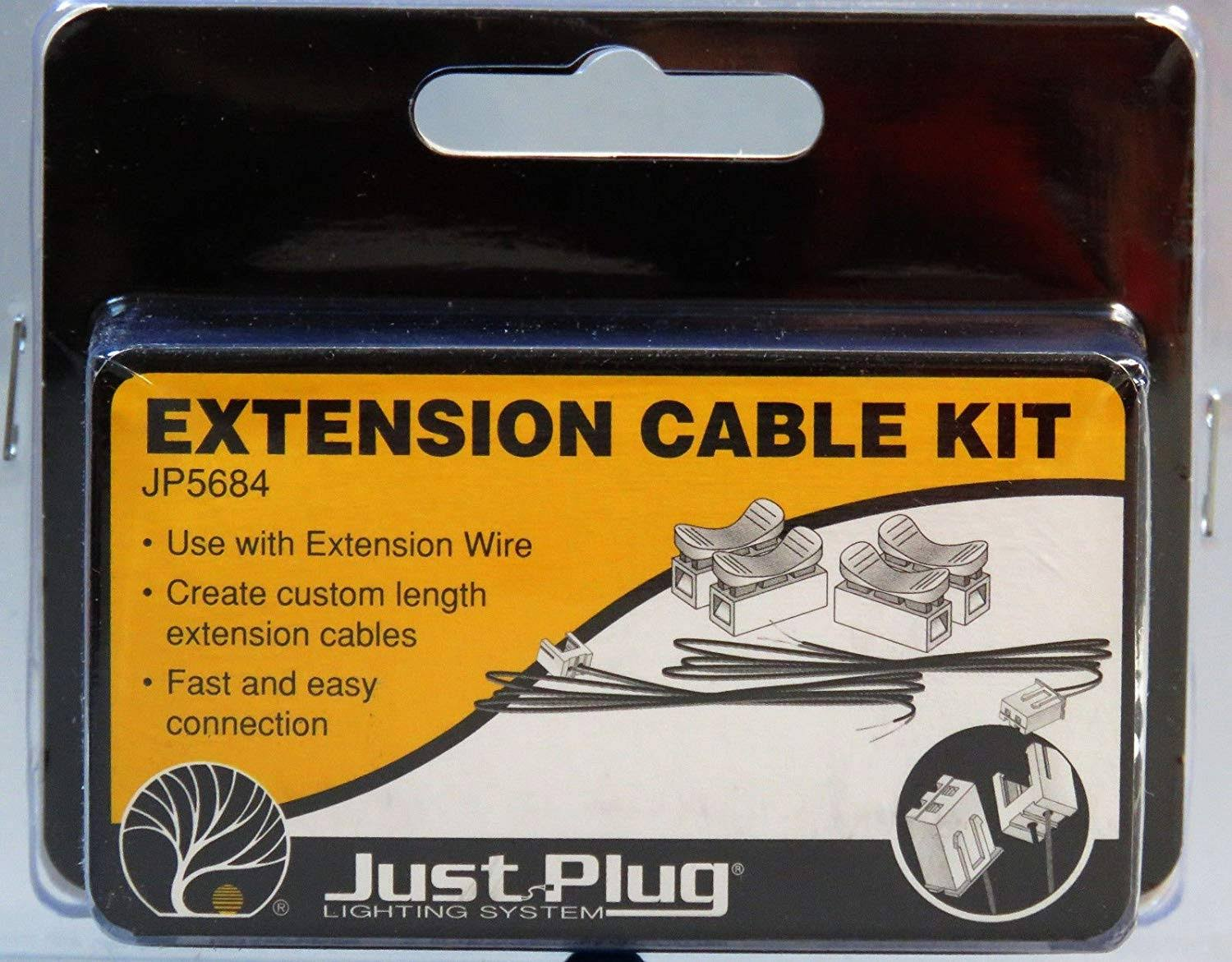 Just Plug Woodland Scenics Extension Cable Kit