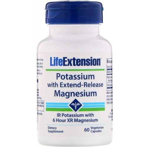 Life Extension - Potassium with Extend-Release Magnesium - 60