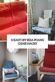 Ikea Glider Chair Poang by 219 Best Ikea Hacks Images On Pinterest Ikea Hacks Chair Covers