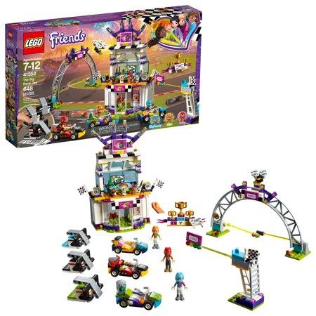 Lego Friends the Big Race Day Building Toy Kit - 648pcs, Multicolor