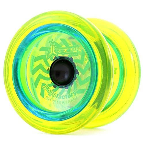 Arrow Lime Green Yoyo from The Yoyofactory Yo Yo