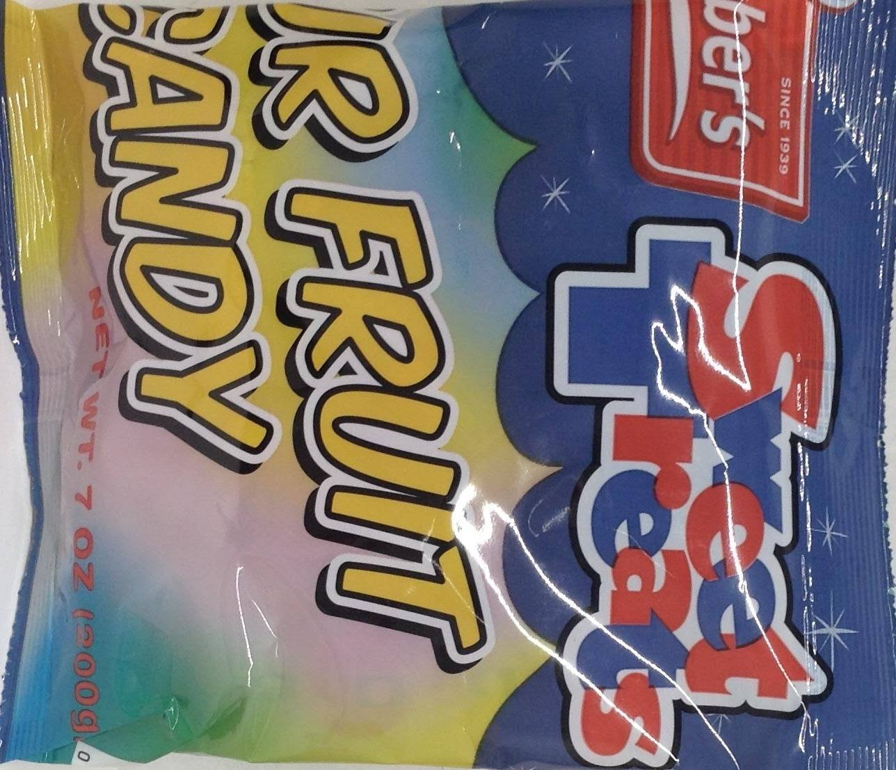 Lieber's Sour Fruit Candy Kosher for