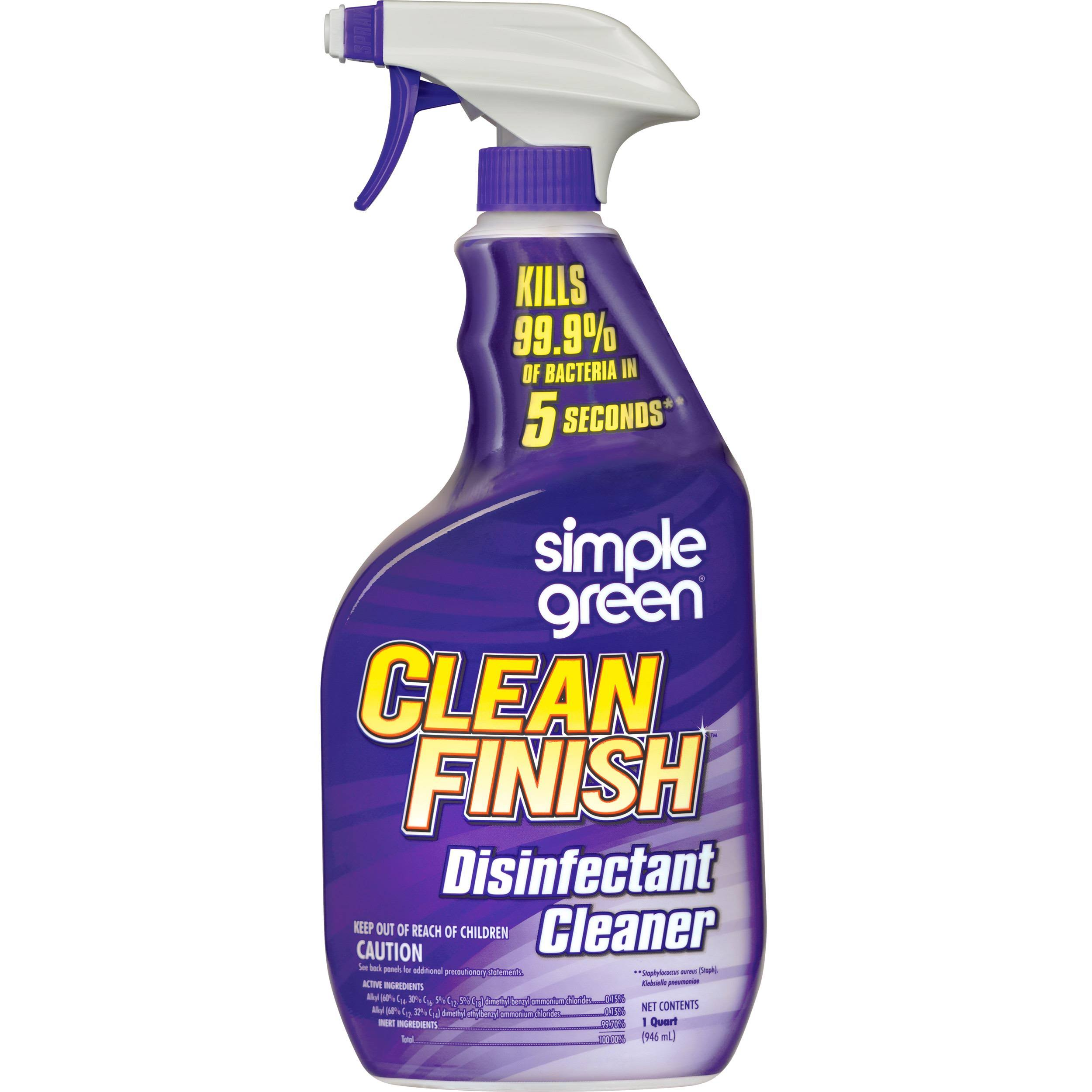 Simple Green Clean Finish Disinfectant Cleaner - 32oz