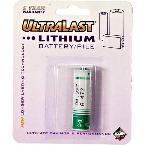 Ultra Last Security System Battery - 3.6V, 2500mah