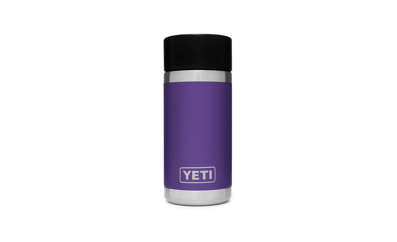 Yeti Peak Purple Rambler 12 oz Bottle with Hotshot Cap
