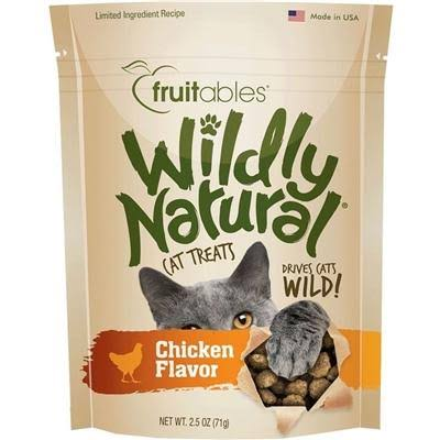 Fruitables Wildly Natural Cat Treats Chicken - 2.5 oz.