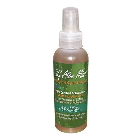 Aloe Life SG Aloe Mist Skin Sray Treatment - 2oz