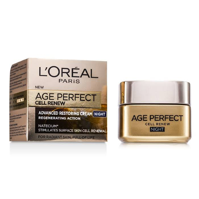 L Oreal Paris Age Perfect Cell Renew Regenerating Night Cream - 50ml