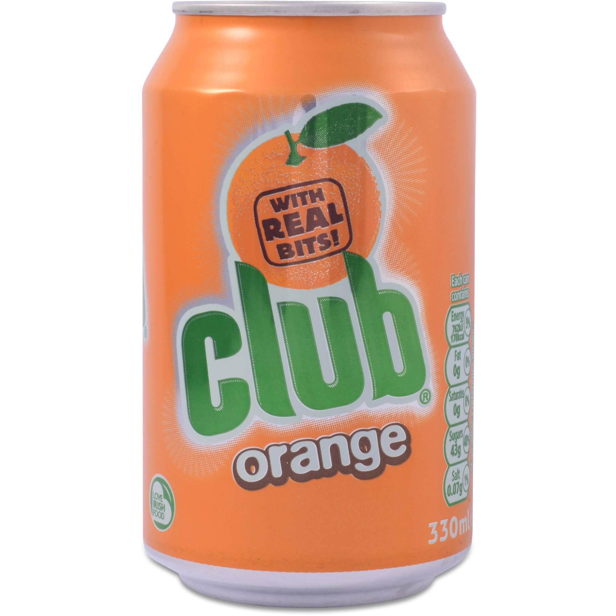 Club Orange Cans 24x 330ml