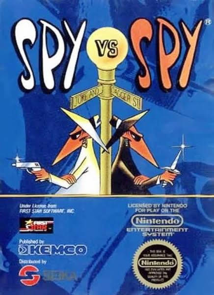 NES Spy vs. Spy