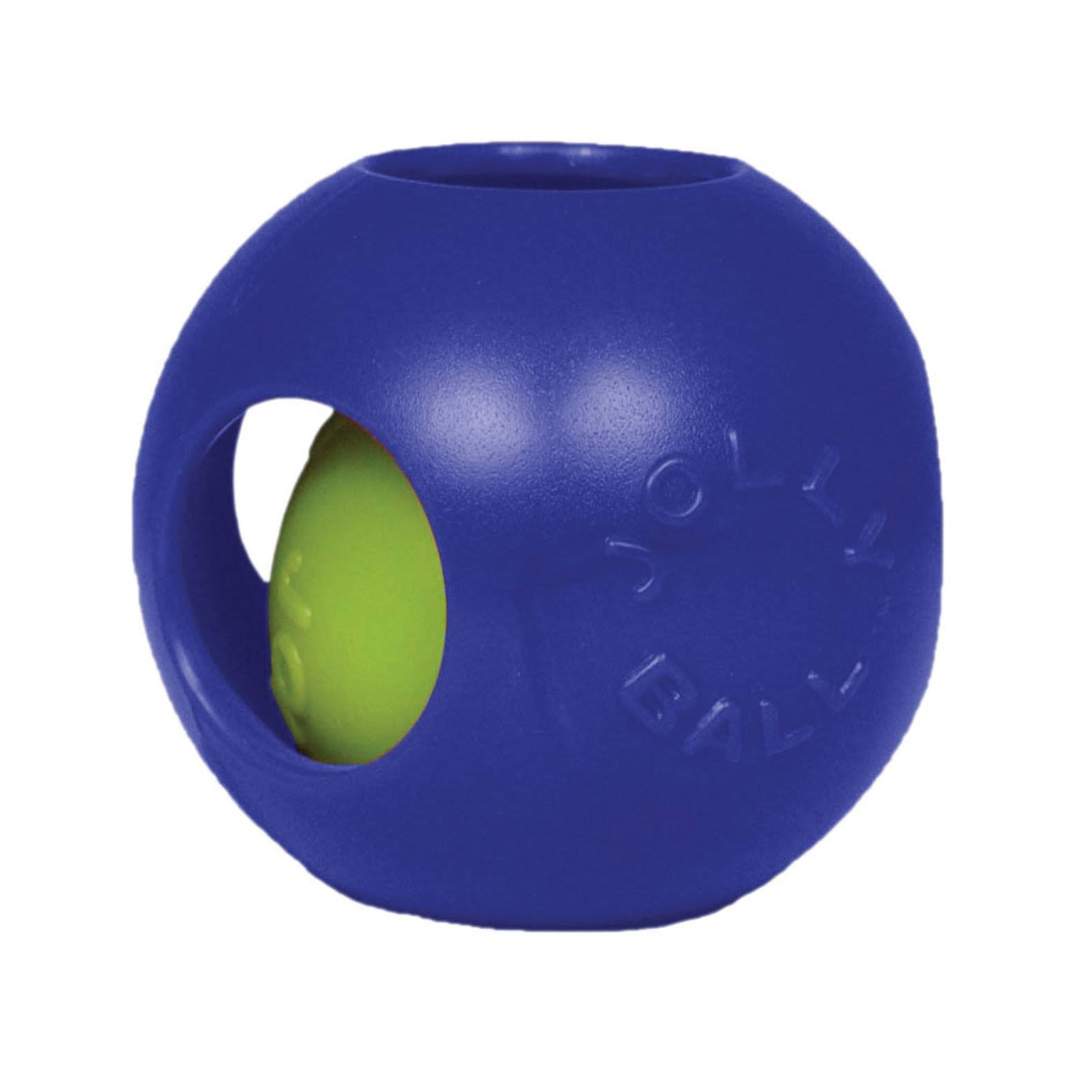 Jolly Pets Teaser Ball Dog Toy - Blue, 25cm