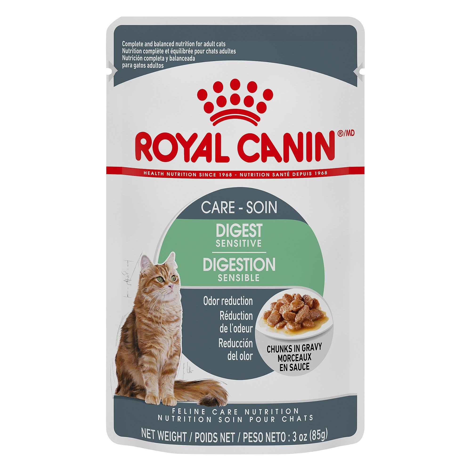 Royal Canin Digest Sensitive Chunks in Gravy for Adult Cats - 3 oz