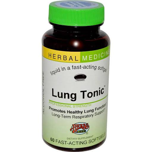 Herbs Etc Lung Tonic - 60 Softgels