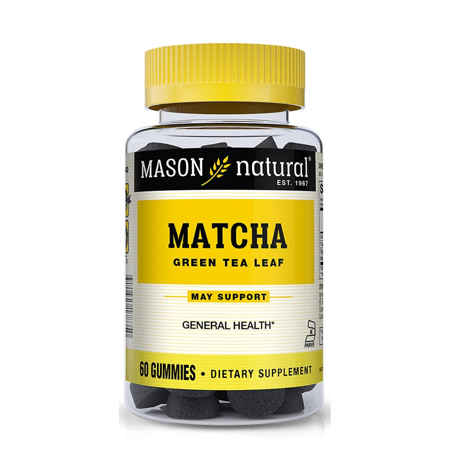 Mason Natural - Matcha Green Tea Leaf - 60 Gummies