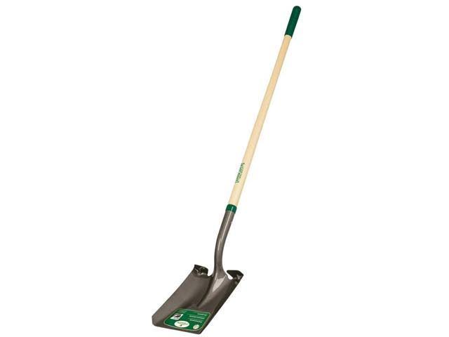 Mintcraft Square Point Shovel with Long Wood Handle - 48""