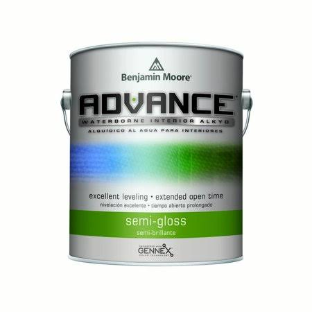 Benjamin Moore Advance Interior Paint- Semi Gloss (793) Gallon / White