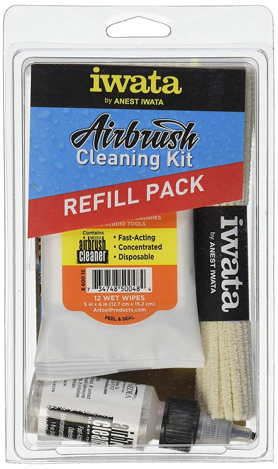 Iwata Medea Airbrush Cleaning Kit Refill Pack