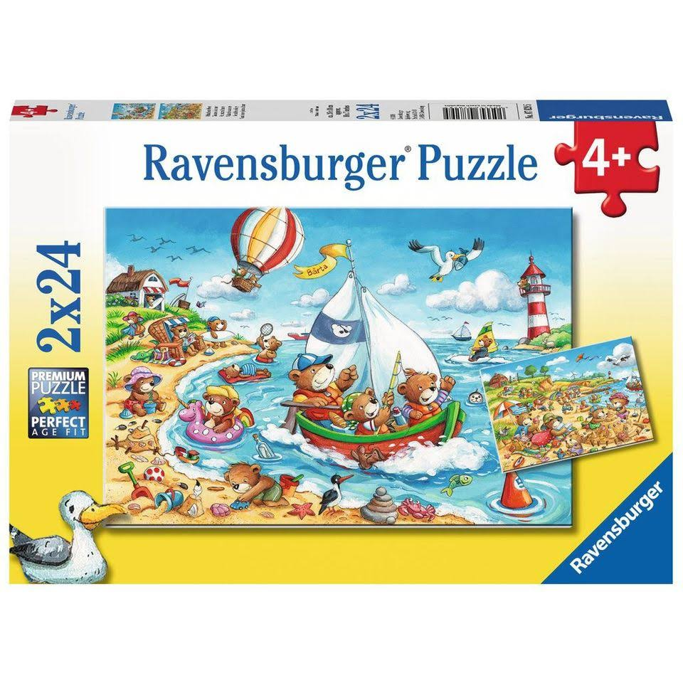 Ravensburger Vacation at Sea Jigsaw Puzzle - 2x24pcs